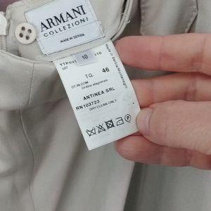 Armani pants size 10 in EUC